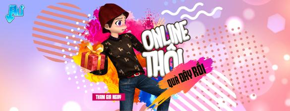 Online thôi - Quà đây rồi