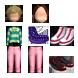 Áo khoác trần,xanh vàng (nam) - Quần ngố,thun hồng (nam) - Giầy dock nâu đen,bóng loáng (nam) - Tóc vàng,xoăn mỳ,đáng yêu (nam) - Croptop tim,dễ thương (nữ) - Quần ngố,thun hồng (nữ) - Giầy thể thao,đỏ trắng xốp (nữ) - Tóc ngắn, Choa AOA (nữ)